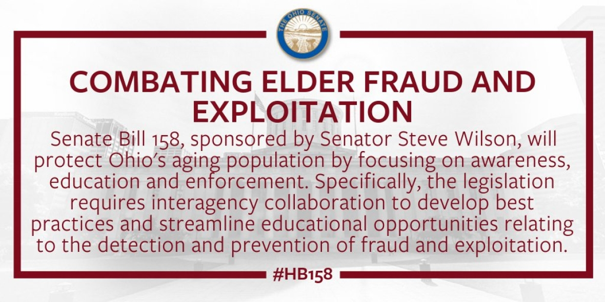 Wilson Commends Signing of Bill to Combat Elder Fraud and